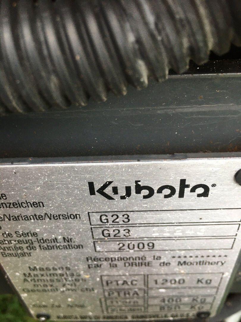 Kubota G23 LD Mower